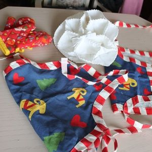 Other - children's apron and oven mitts